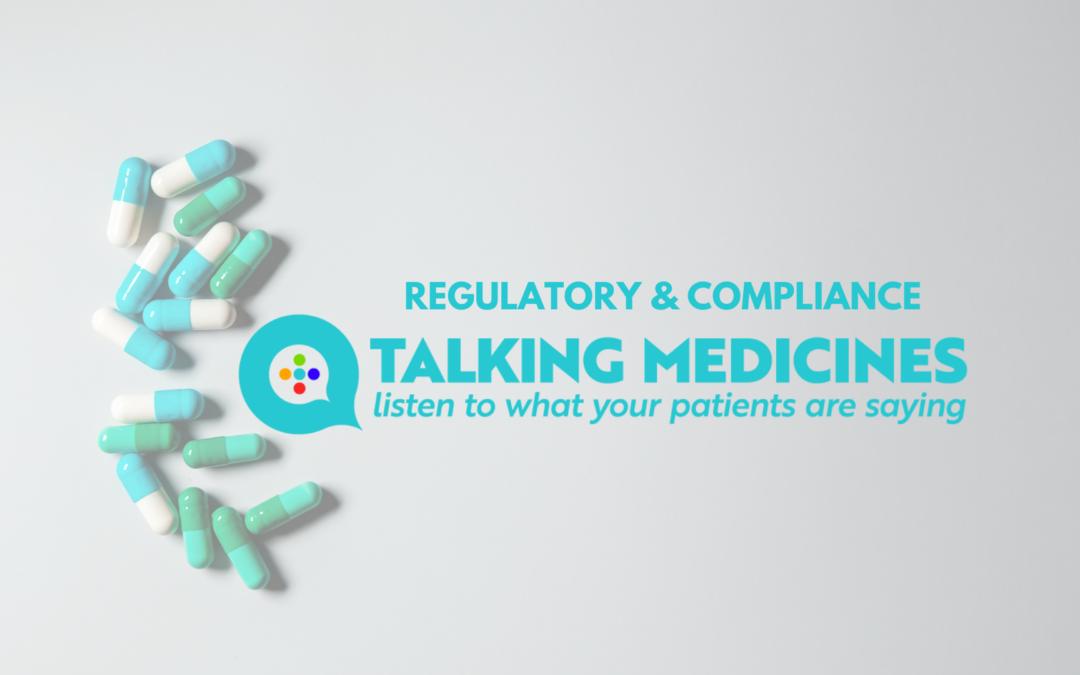 Regulatory & Compliance at Talking Medicines