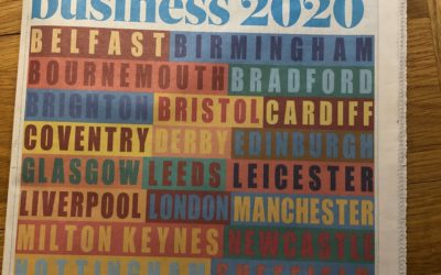 Named by Sunday Times in best places for business