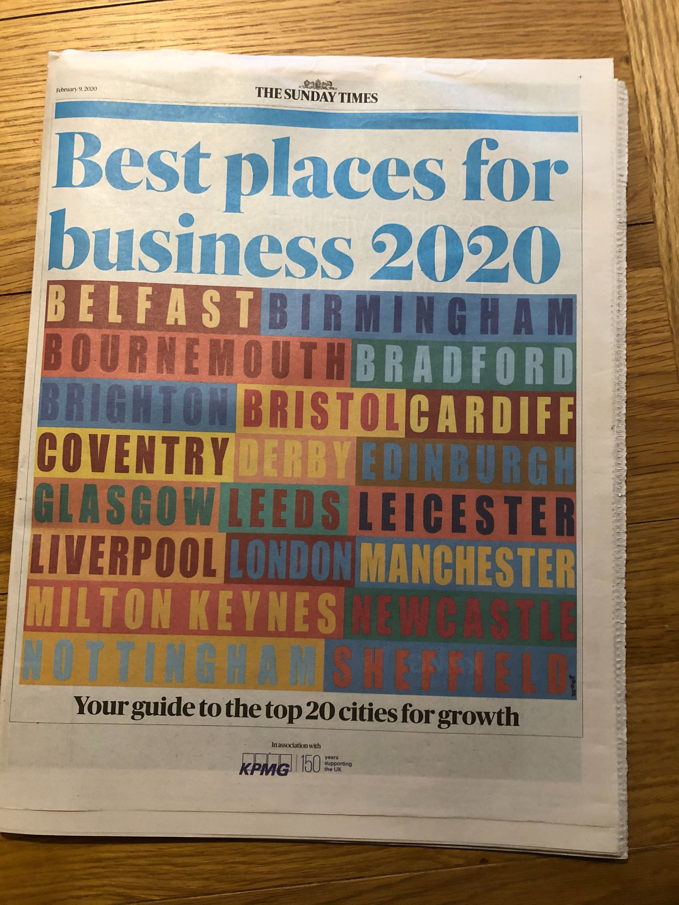 Sunday Times best places to work
