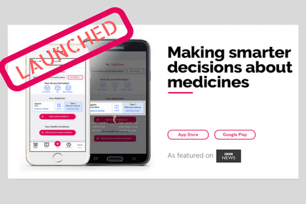 The Medsmart App is available in the app stores now!