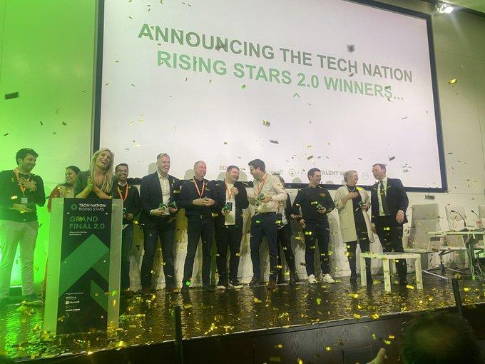 Tech Nation winners